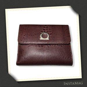 SALVATORE FERRAGAMO Vintage Exotic Leather Wallet